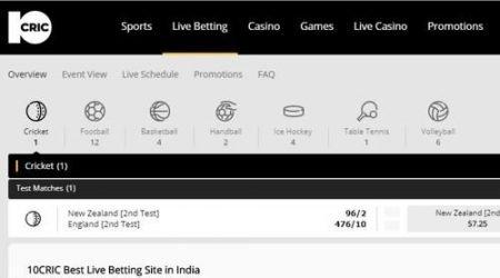 10Cric Casino India sports betting