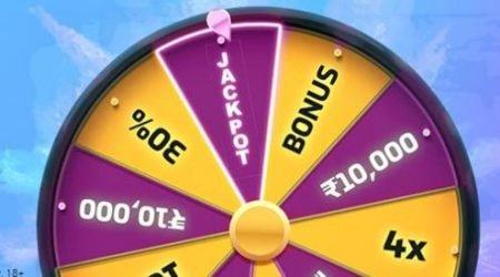 10Cric Casino India wheel of Bonuses