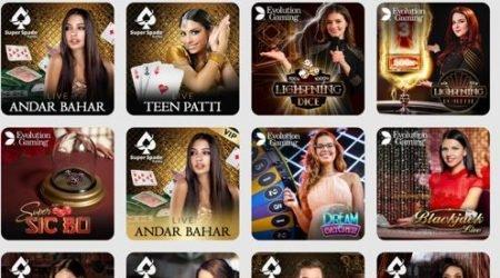 10Cric Casino India Live Casino Selection