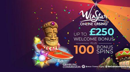 Winstar Online casino welcome bonus