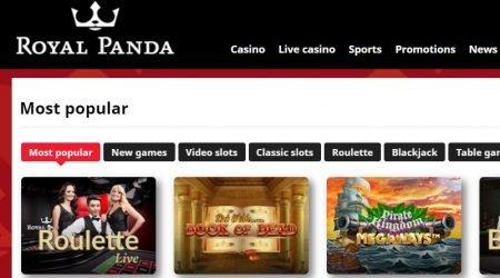 Royal Panda India Game Selection