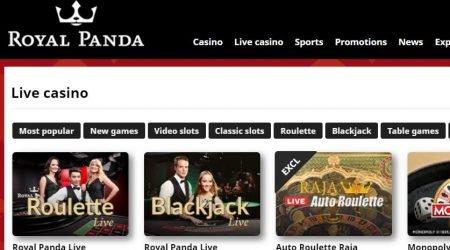 Royal Panda India Live Casino