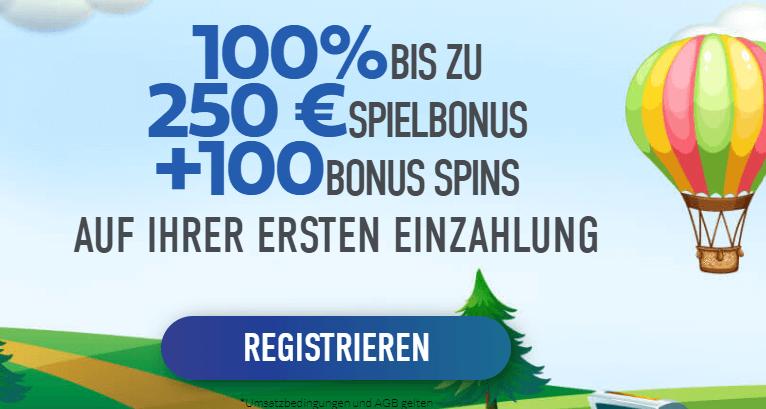 Slotnite Casino Bonus für Neukunden