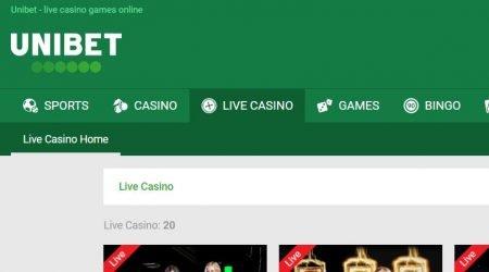 Unibet Casino India Live Casino