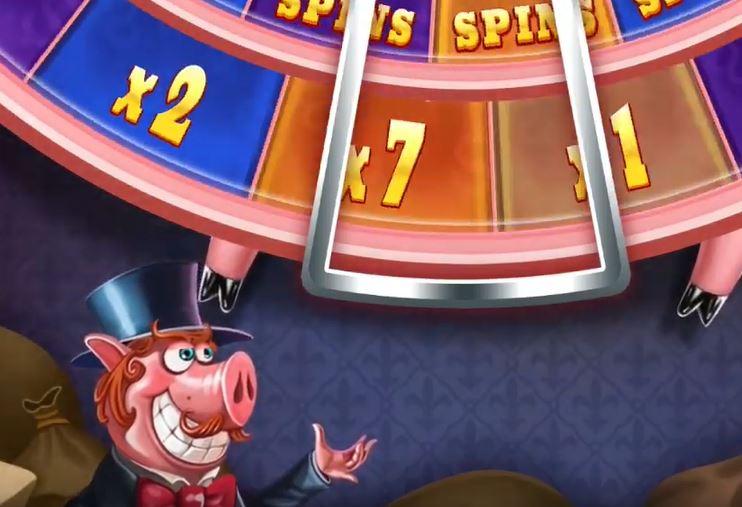 Piggy Riches Megaways onnenpyörä