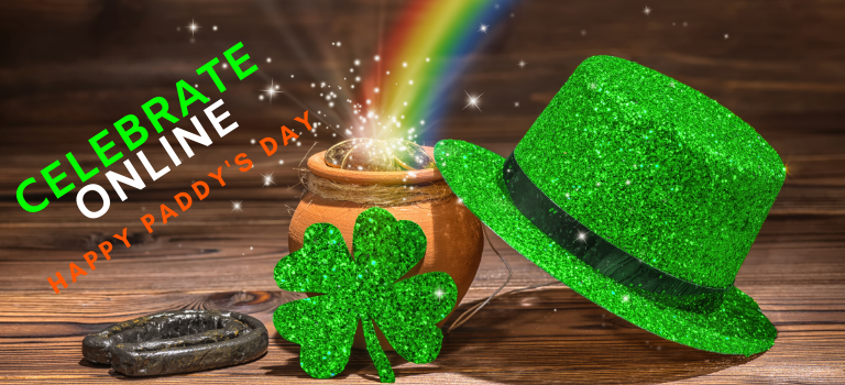 How to Celebrate St Patrick's Day Online