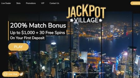 Jackpot village casino welcome bonus.