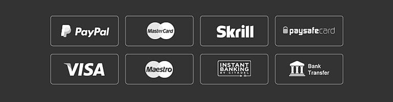 Wettanbieter online Zahlungsmethoden