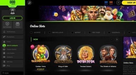 888 casino slot games.