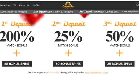 Casimba casino promotions