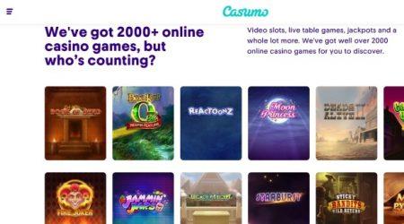 Casumo Online Slot Games.