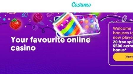 Casumo Welcome Bonus Canada.
