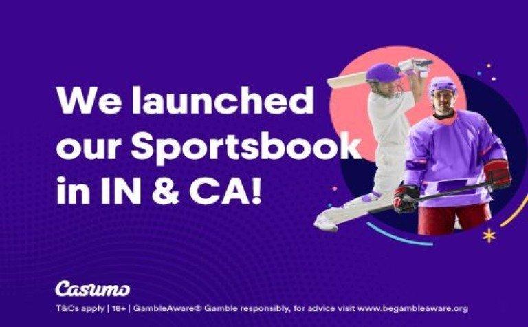 Casumo sports book Canada