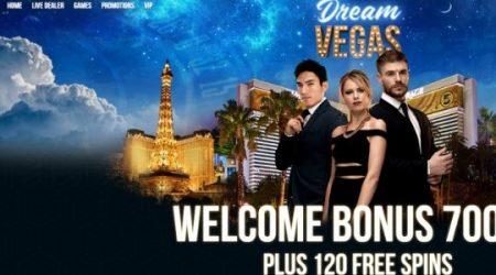 Dream Vegas Casino Welcome Offer.