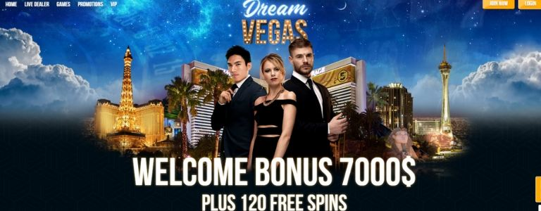 Dream Vegas Casino Welcome Offer Canada