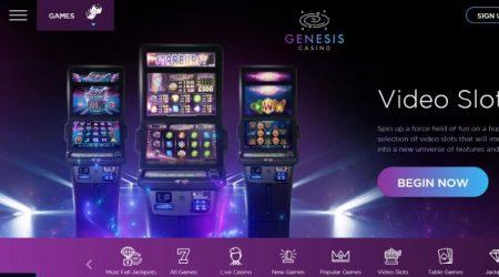 Genesis Casino Video Slots.