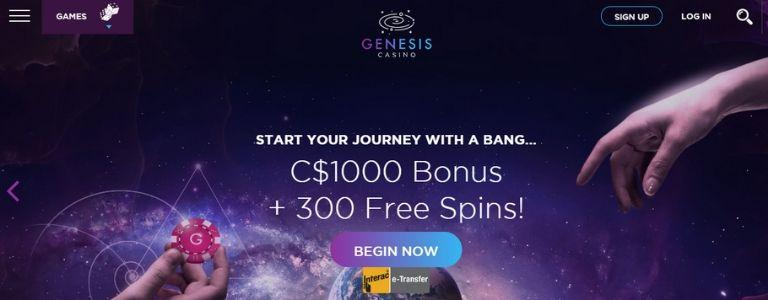 Genesis Welcome Bonus Canada