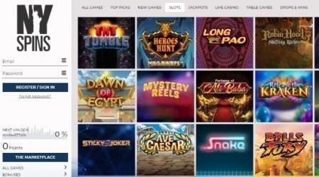 NY Spins Casino Slot Games