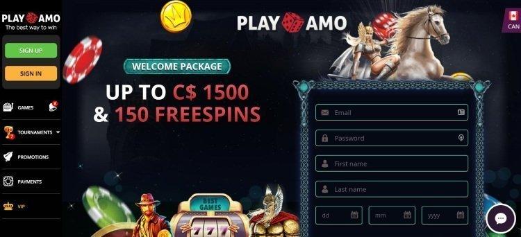 PlayAmo Bonus