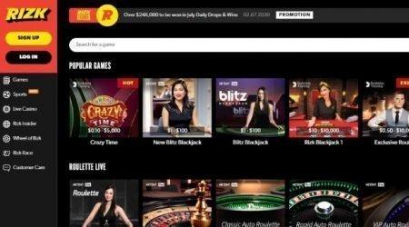 Rizk Live Casino.