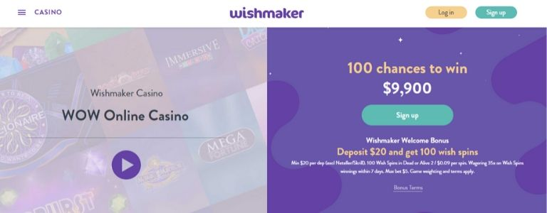 wishmaker-welcome-bonus