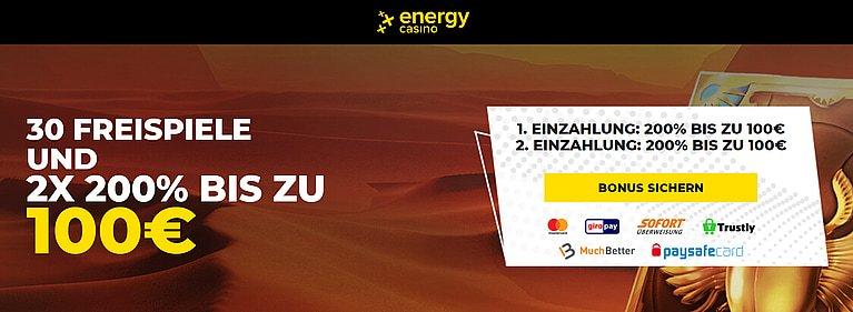 Energy Bonus Code