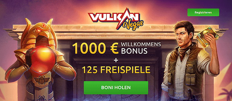 VulkanVegas Casino Bonus für Neukunden