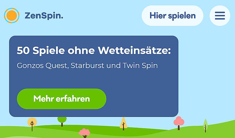 ZenSpin Casino Bonus