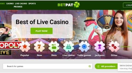 BetPat Homepage