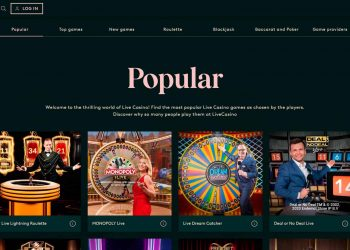 LeoVegas Launches New Live Casino