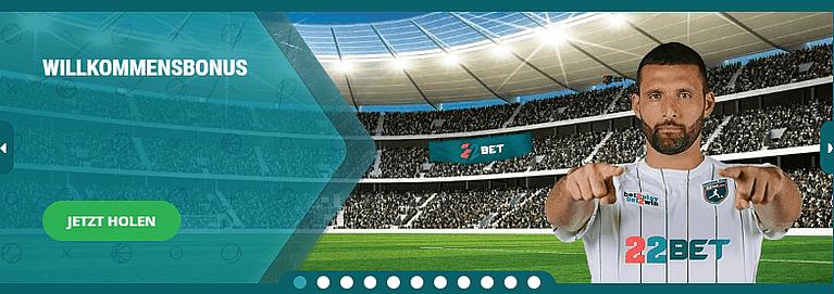 22Bet Willkommensbonus Sportwetten Bonus