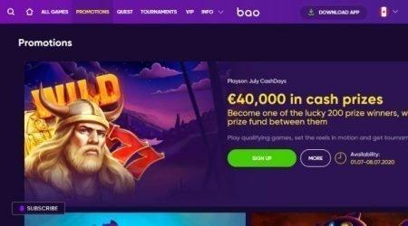 Best online casino promotions.