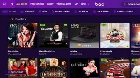 Bao live games canada.