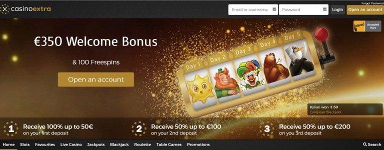 Casino Extra Bonus Canada