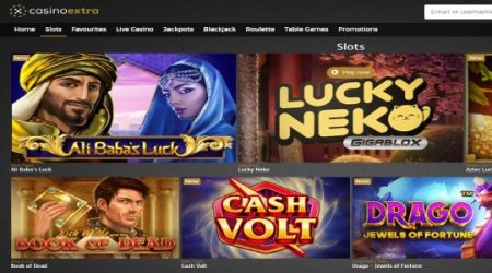 Casino extra online slots.