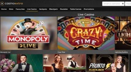 Casino extra live casino canada.