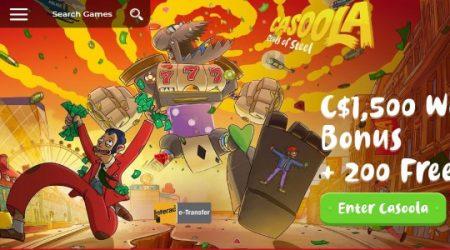 Casoola casino bonus canada.