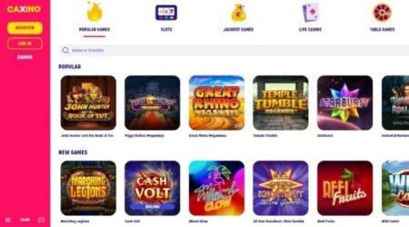 Caxino casino online games.