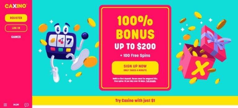 Caxino-casino-welcome-bonus