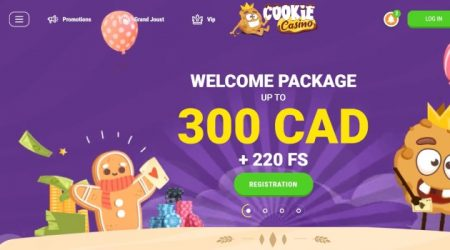 Cookie casino bonus canada.