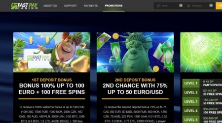 FastPay Casino Promotions.