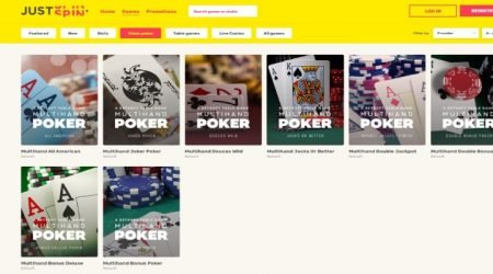 Justspin-video-poker-canada.