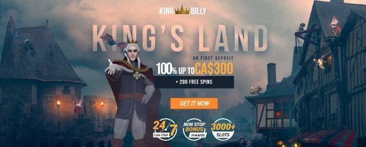 king-billy-welcome-bonus