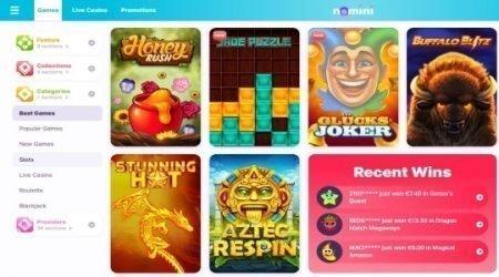 Nomini Casino Games Canada.