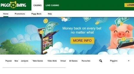 Piggy bang casino bonus.