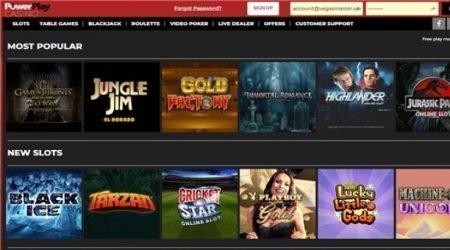 PowerPlay Casino Slots.