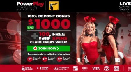 Powerplay Sign up offer canada.