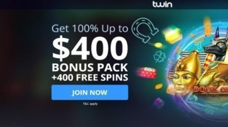 Twin casino welcome bonus.