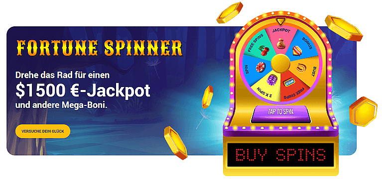 Bee Spins Casino Fortune Spinner