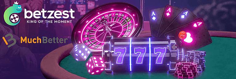 Betzest Casino - Casino mit MuchBetter